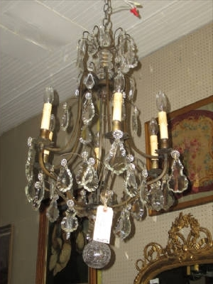 Antique French Chandelier French Chandelier Antique Antique Crystal Throughout Latest Antique French Chandeliers (View 2 of 10)