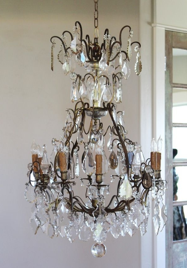 Antique French Chandeliers Throughout Most Recently Released 614 Best Paris Couture Antiques Images On Pinterest (View 3 of 10)