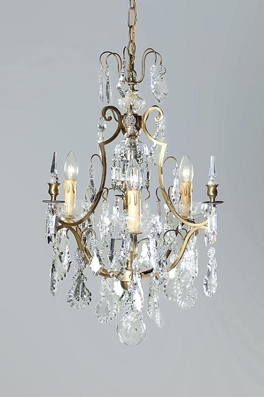 Antique French Crystal Chandeliers Chandelier Appealing French With 2018 French Crystal Chandeliers (View 6 of 10)