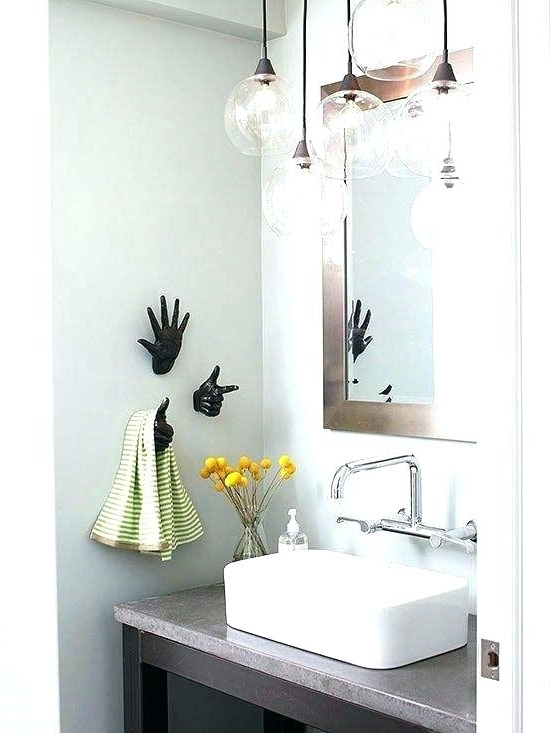Featured Photo of Bathroom Lighting Chandeliers