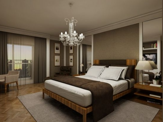 Bedroom Chandeliers With Most Recent 37 Startling Master Bedroom Chandeliers That Exudes Luxury (View 4 of 10)