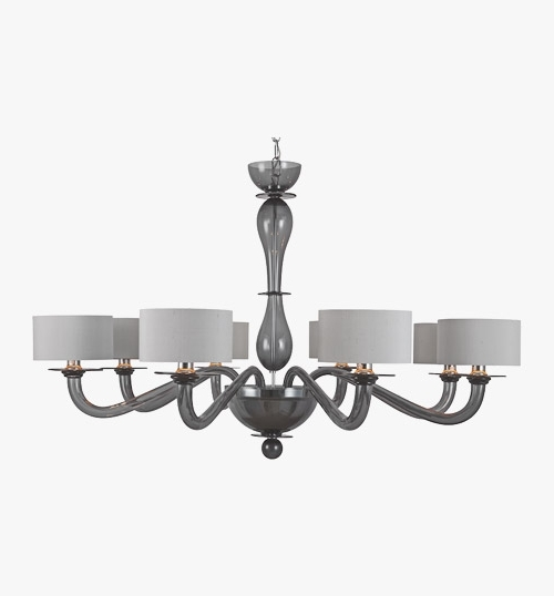 Bella Figura Pertaining To Grey Chandeliers (View 7 of 10)