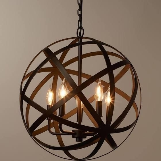 Best 25 Round Chandelier Ideas On Pinterest Industrial Light Small For Trendy Small Rustic Chandeliers (View 1 of 10)
