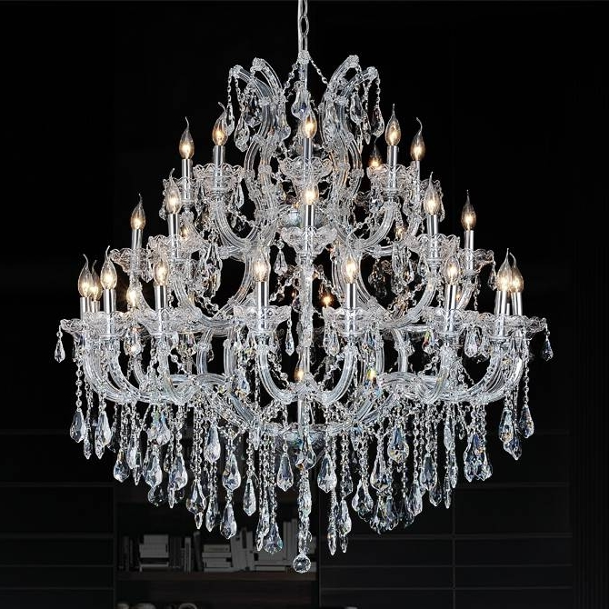 Featured Photo of 3 Tier Crystal Chandelier