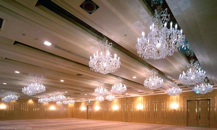 Best And Newest Ballroom Chandeliers For Sale Maria Crystal Chandeliers Ballroom Intended For Ballroom Chandeliers (View 7 of 10)