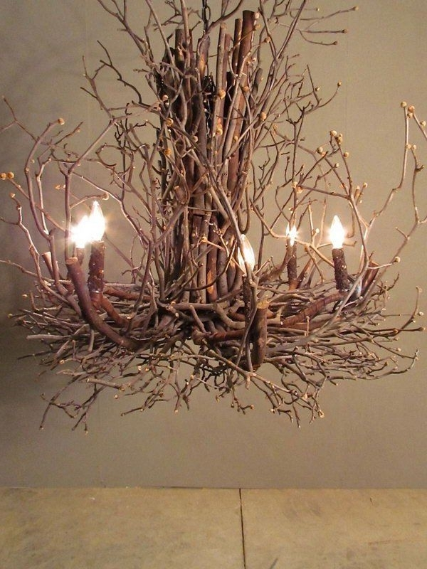 Best And Newest Branch Chandeliers With This Branch Chandelier Is A Cool Way Of Bringing Natural Elements (View 1 of 10)