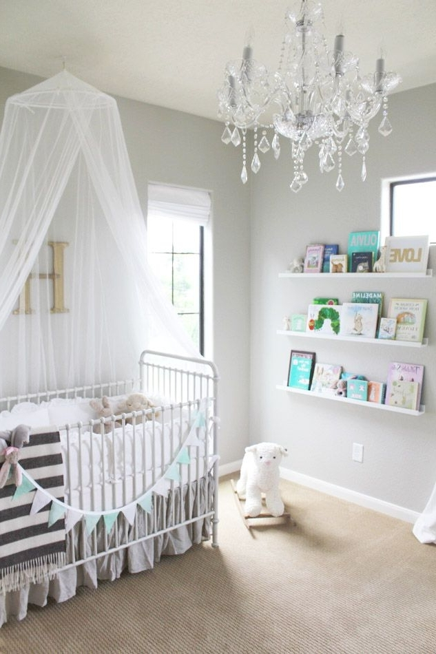 Best And Newest Chandelier For Nursery – Thejots For Mini Chandeliers For Nursery (View 2 of 10)