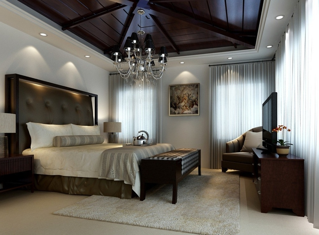 Best And Newest Chandeliers In The Bedroom Inside Chandeliers In Bedrooms Magnificent Bedroom Chandelier Designs (View 5 of 10)