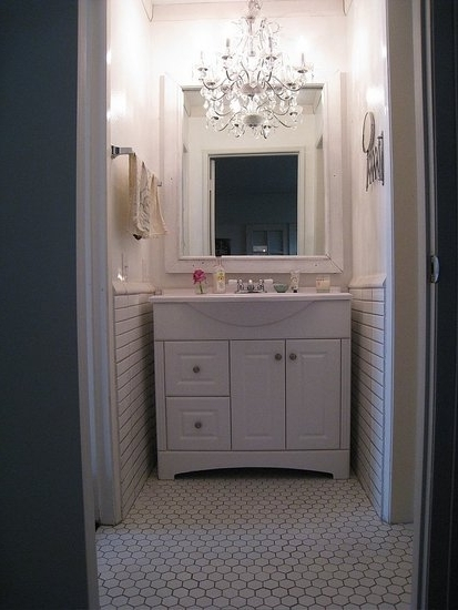 Best And Newest Download Small Chandeliers For Bathroom Gen4Congress Regarding Throughout Mini Bathroom Chandeliers (View 1 of 10)