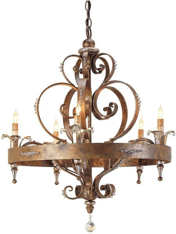 Best And Newest French Country Chandeliers In Chandelier (View 1 of 10)