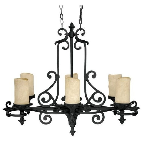 Best And Newest Luxury Black Wrought Iron Chandelier 32 For Your Small Home Intended Regarding Modern Wrought Iron Chandeliers (View 2 of 10)