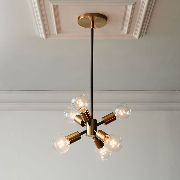 Featured Photo of Mini Sputnik Chandeliers