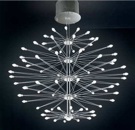 Best And Newest Modern Glass Chandeliers Regarding Inspiration Modern Glass Chandelier For Home Decoration Ideas (View 8 of 10)