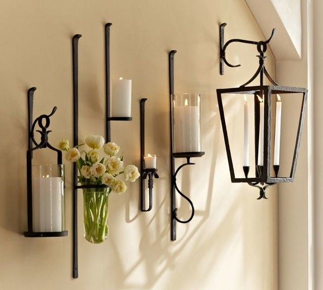 Featured Photo of Wall Mounted Candle Chandeliers