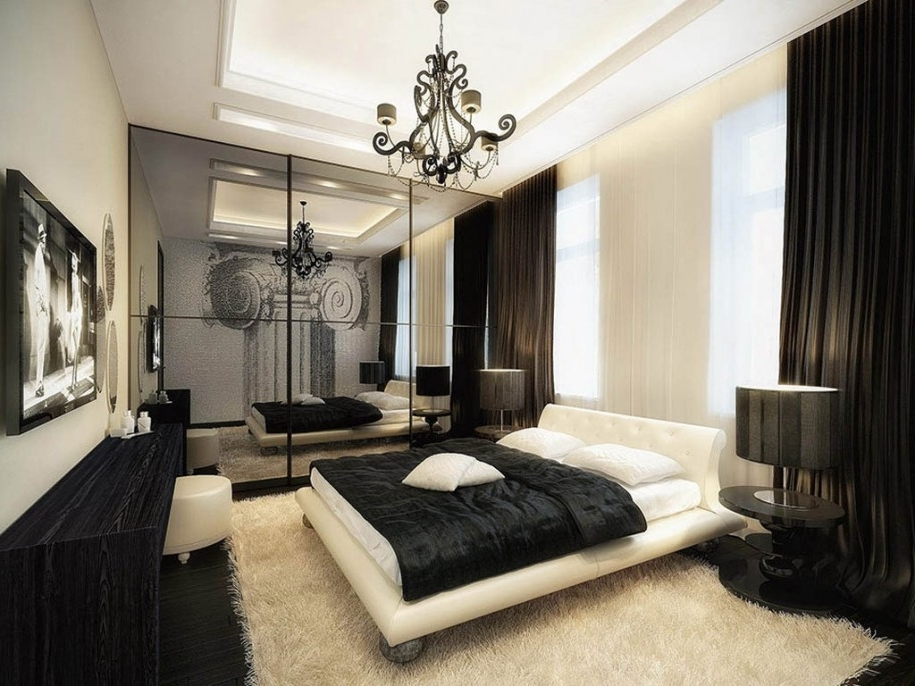Black Chandelier Bedroom In 2017 Black Chandelier For Bedroom Brilliant Amusing Decor Exciting (View 4 of 10)