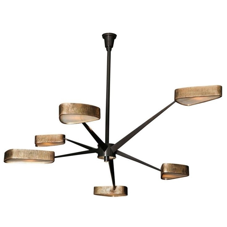 Bronze Modern Chandelier Pertaining To Most Popular Modern Bronze Chandelier – Buzzmark (View 10 of 10)