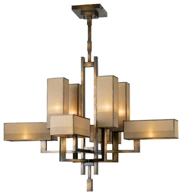 Bronze Modern Chandelier With 2017 Modern Bronze Chandelier – Buzzmark (View 3 of 10)