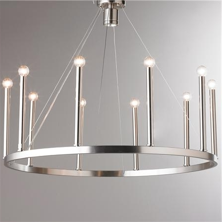 Candelabra, Euro And With Regard To Well Known Modern Chrome Chandeliers (View 2 of 10)