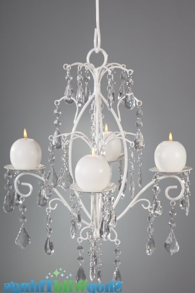Candle Chandelier – Hang Or Tabletop In Hanging Candle Chandeliers (View 4 of 10)