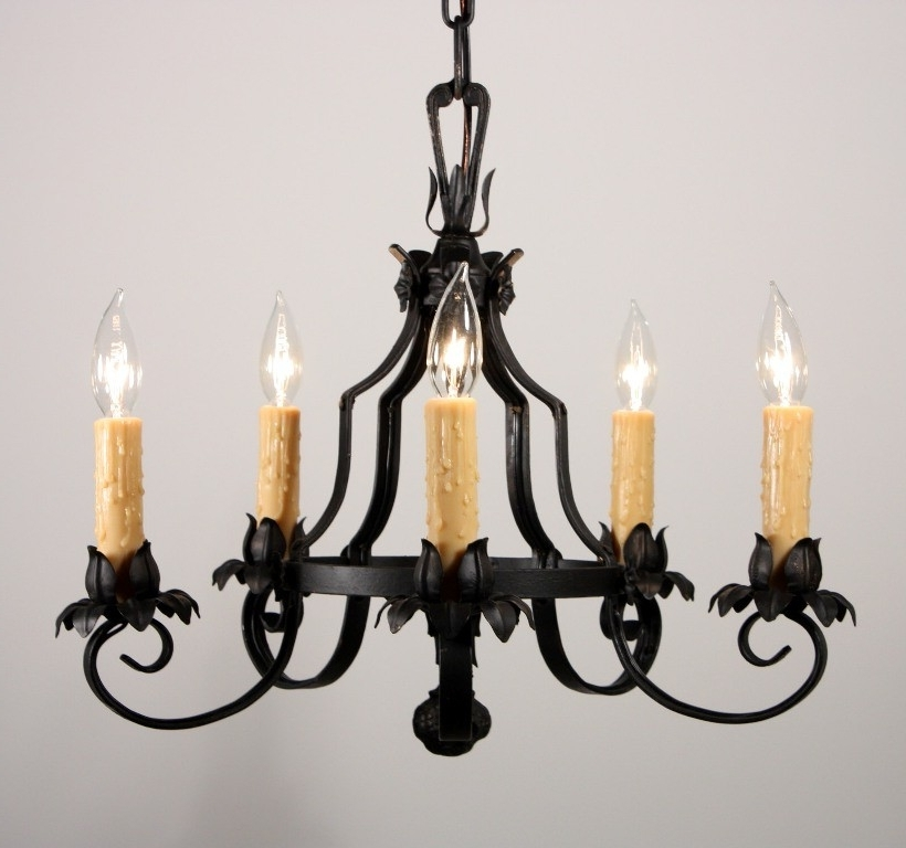 Cast Iron Antique Chandelier In Trendy Cast Iron Chandelier Antique – Chandelier Designs (View 7 of 10)