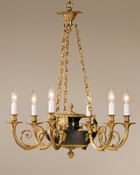 Chandelier – Antique Brass And Antique Bronze Chandelier Pertaining To Newest Old Brass Chandelier (View 2 of 10)