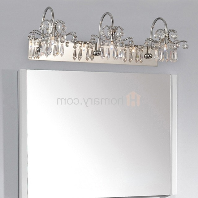 Chandelier Bathroom Vanity Lighting Inside Recent Vanity Light Catalog – Jeffreypeak (View 2 of 10)