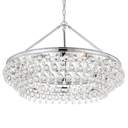 Chandelier Chrome Throughout Well Known Crystorama Calypso Chandelier – Chrome (View 3 of 10)