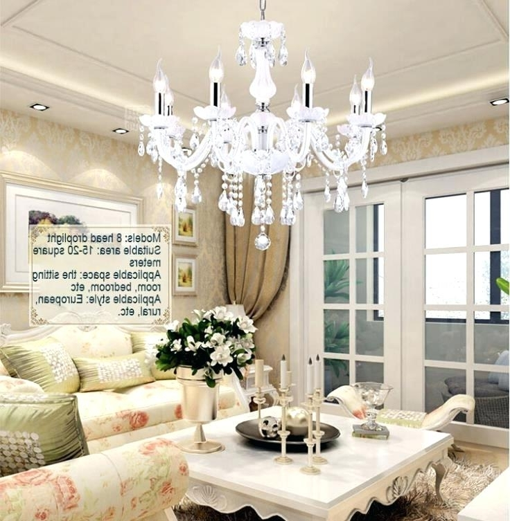 Chandelier For Small Living Room Pickasound Co In Chandeliers Plans Pertaining To Fashionable Living Room Chandeliers (View 5 of 10)