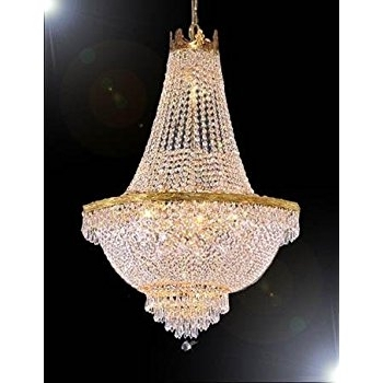 Chandelier Lights In Most Popular French Empire Crystal Chandelier Lighting – Great For The Dining (View 4 of 10)