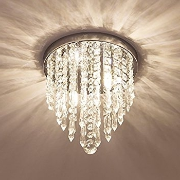 Chandelier Lights Throughout Newest Lifeholder Mini Chandelier, Crystal Chandelier Lighting, 2 Lights (View 6 of 10)