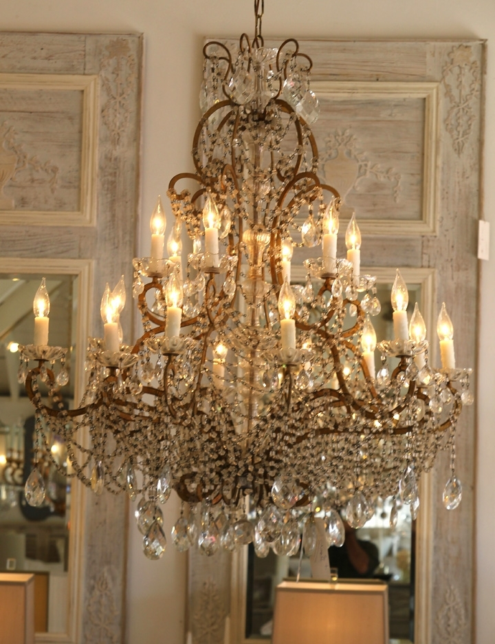 Featured Photo of Vintage Italian Chandelier
