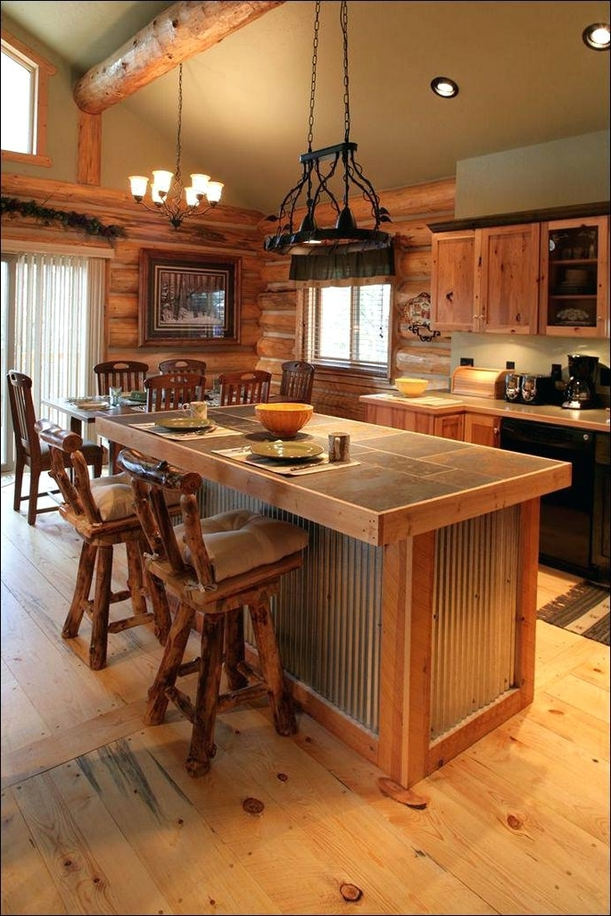 Chandeliers Design Fabulous Cool Rustic Modern Kitchen Island With Regarding Most Recent Small Rustic Kitchen Chandeliers (View 2 of 10)