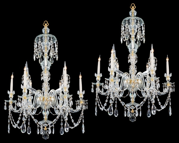 Chandeliers Edwardian – The Uk's Premier Antiques Portal – Online Inside Well Known Edwardian Chandeliers (View 3 of 10)