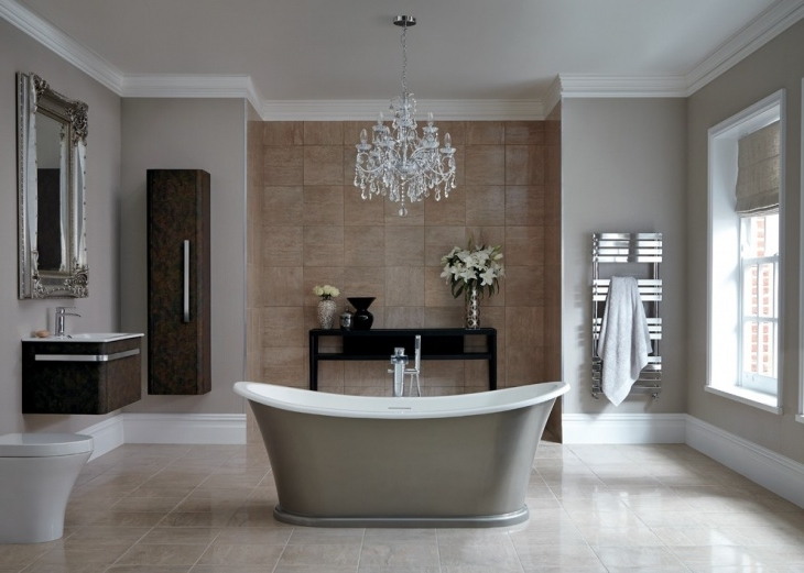 Chandeliers For The Bathroom With Recent 20+ Bathroom Chandelier Designs, Decorating Ideas (View 8 of 10)