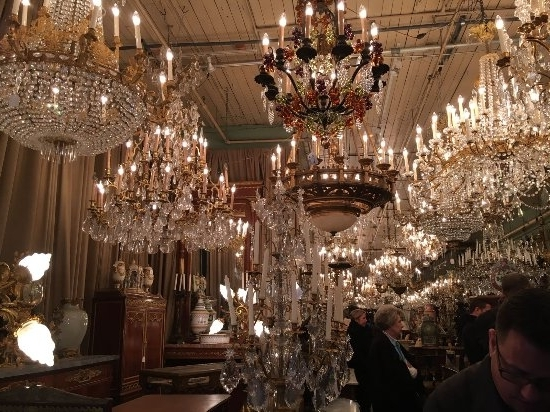 Chandeliers In An Antique Store – Picture Of Royal Street, New In Widely Used Ballroom Chandeliers (View 9 of 10)