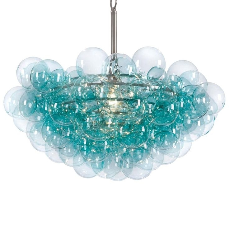 Chandeliers, Light Intended For Newest Turquoise Blue Chandeliers (View 2 of 10)
