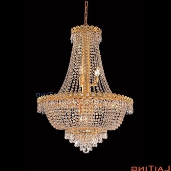 Chinese Chandelier Intended For 2018 Decorative Crystal Small Chinese Chandelier Wholesale Pendant Lamp (View 1 of 10)