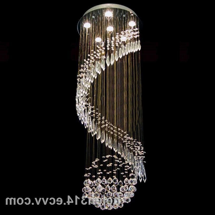 Chinese Chandeliers With Trendy Modern Chinese Top K9 Crystal Chandelier Pendant Light/lamp 6041  (View 3 of 10)