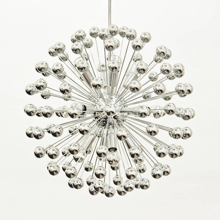 Chrome Sputnik Chandeliers Intended For Well Liked Chrome Sputnik Chandelier – Chandelier Designs (View 4 of 10)