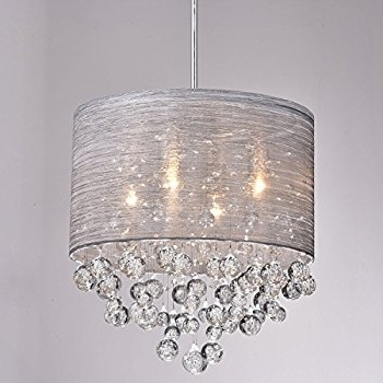 Claxy Ecopower Lighting Metal & Crystal Pendant Lighting Modern Within Widely Used Modern Chandelier (View 1 of 10)