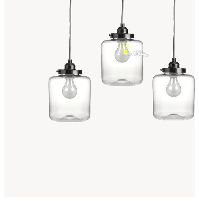 Clear Glass Chandeliers Pertaining To Most Current Enchanting Clear Glass Pendant Lights Clear Glass Pendant Lighting (View 4 of 10)