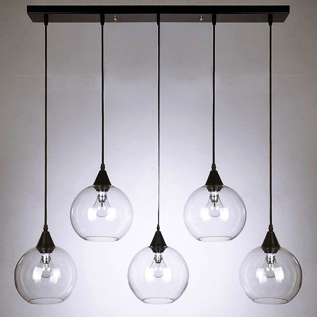 Clear Glass Chandeliers Regarding Most Up To Date Pendant Lighting Ideas (View 5 of 10)
