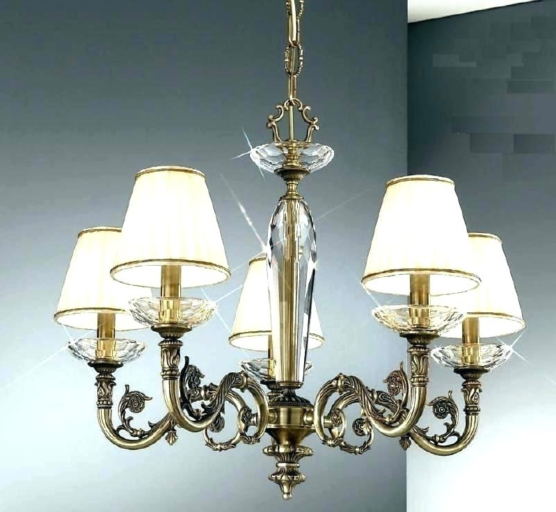 Clip On Shades For Chandeliers Clip On Mini Chandelier Lamp Shades Regarding Recent Clip On Chandeliers (View 3 of 10)