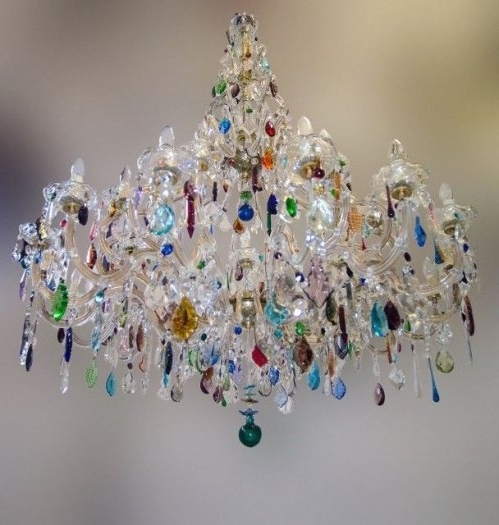 Coloured Chandeliers For Most Recently Released Best 25+ Multicoloured Chandeliers Ideas On Pinterest (View 2 of 10)