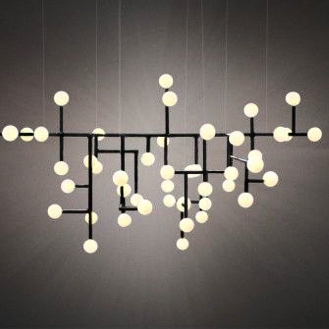Contemporary Large Chandeliers Intended For Most Up To Date 164 Best Modern Chandeliers – Large, Contemporary Light Fixtures (View 3 of 10)