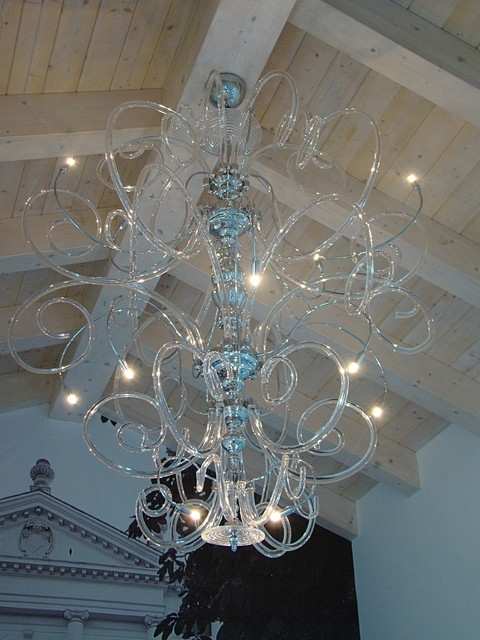 Contemporary Large Chandeliers Regarding Most Current Home Design : Mesmerizing Large Modern Chandelier Stylish (View 8 of 10)