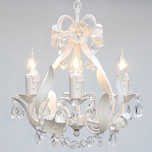 Country Chic Chandelier In Recent Home Design : Amazing Shabby Chic Lighting Chandelier Large (View 3 of 10)