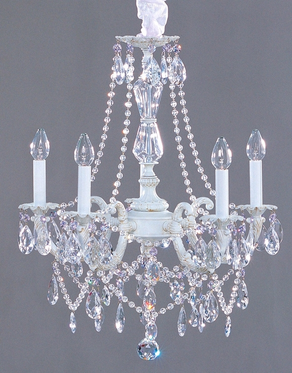 Country Chic Chandelier Intended For Latest Lighting – Chandeliers – Shabby Chic Style Crystal Chandelier (View 4 of 10)