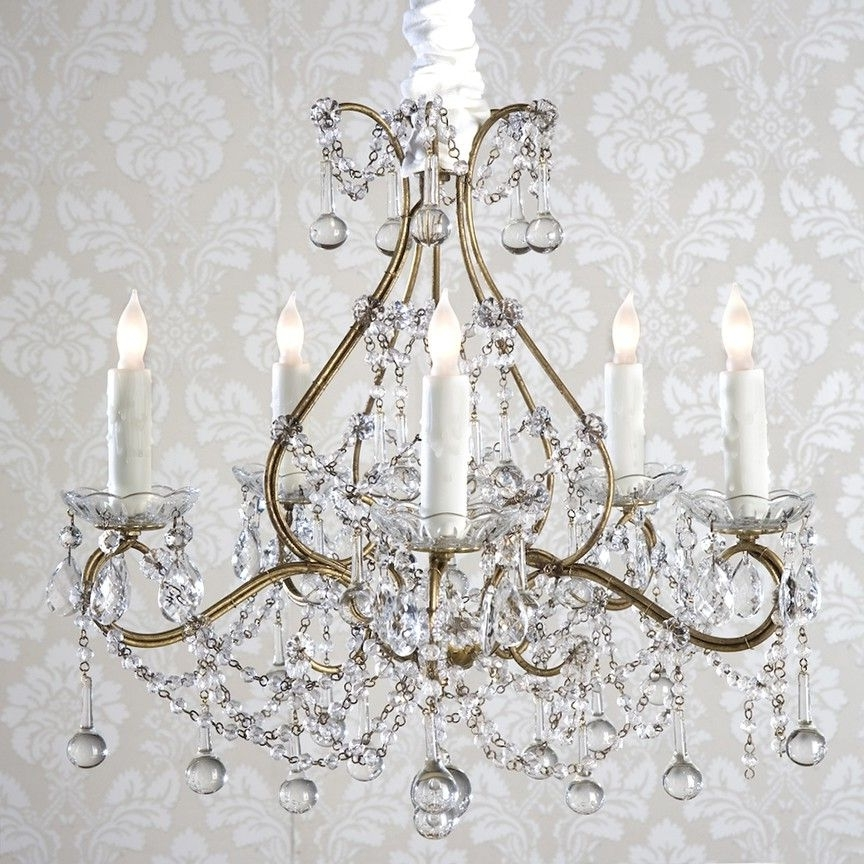 Country Chic Chandelier With Trendy Shabby Chic Chandeliers–I Want This For Our Dining Room (View 5 of 10)