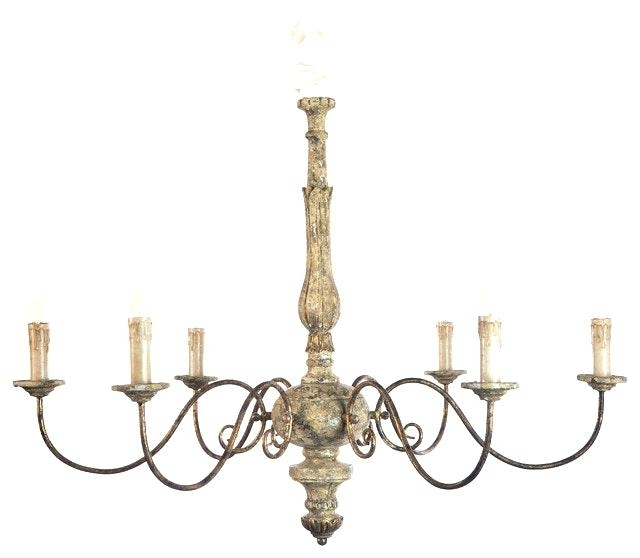Country Wooden Chandelier – Wecanhelpyou In Most Up To Date French Wooden Chandelier (View 2 of 10)